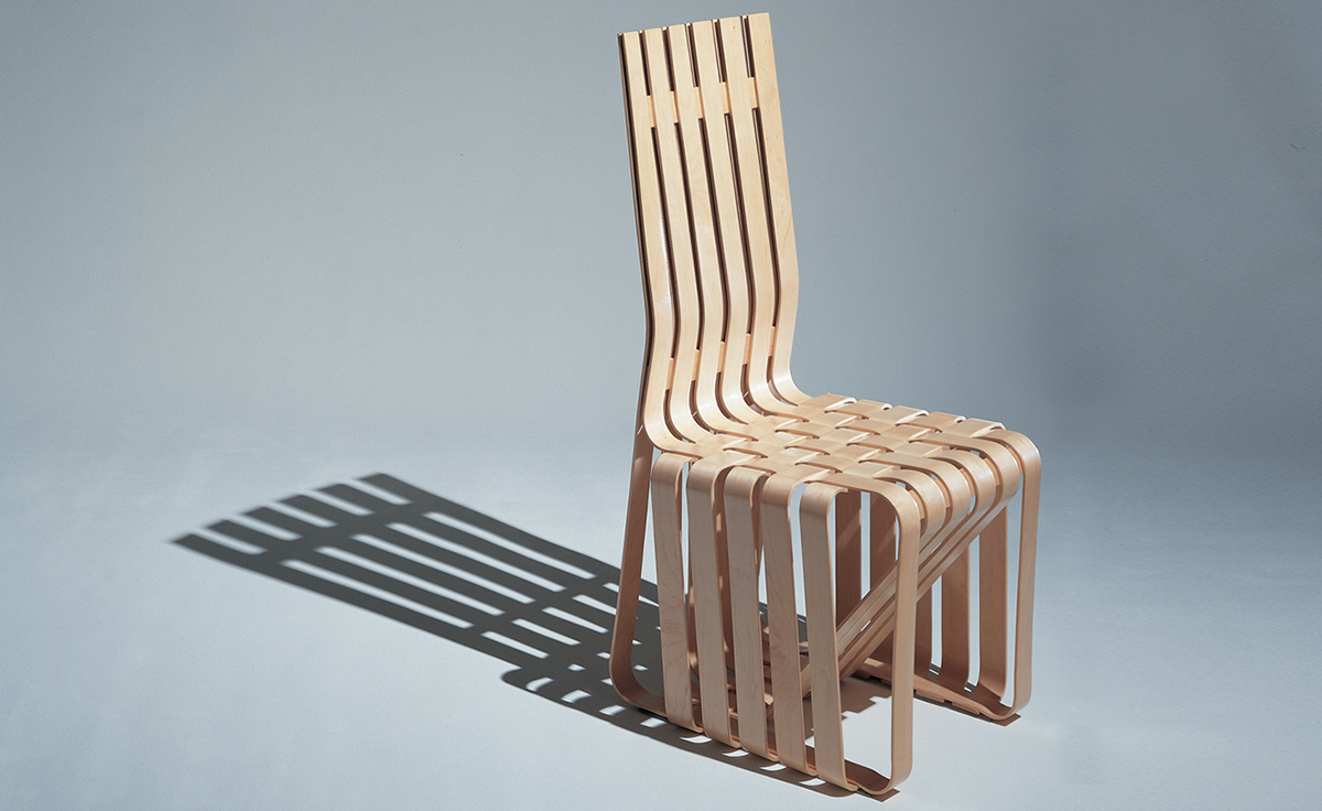 Gehry High Sticking Chair  hivemoderncom