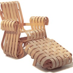 Frank Gehry Chair Transport Wheel Power Play Lounge Hivemodern Com