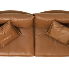 Sofa Settee Tufted Leather Sofas For Sale Gentry 90 - Hivemodern.com