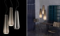 Glass Drop Suspension Lamp - hivemodern.com