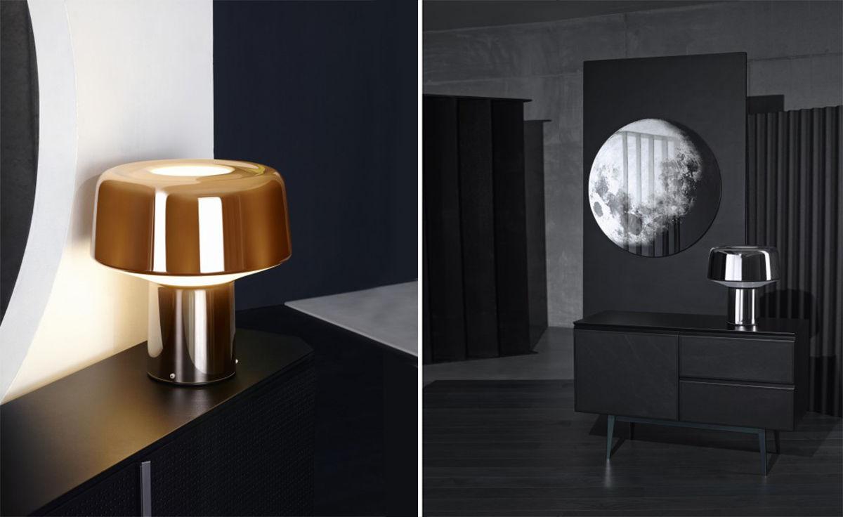 Glass Drop Table Lamp  hivemoderncom
