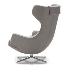 Vitra Lounge Chair Rocking And Stool Grand Repos Hivemodern Com