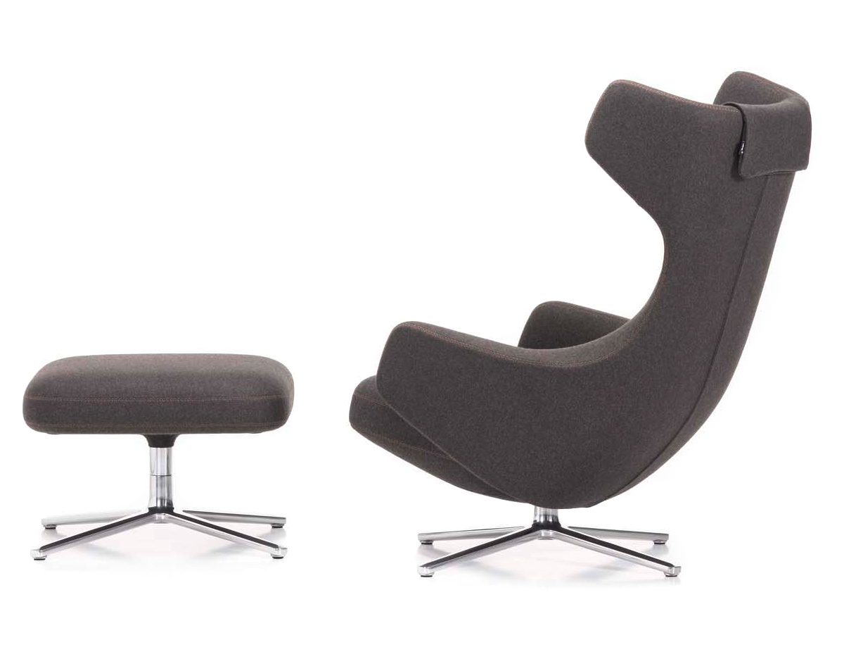 vitra lounge chair pedicure chairs uk grand repos and ottoman hivemodern