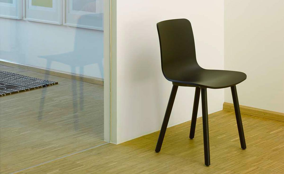 Hal Wood Side Chair  hivemoderncom
