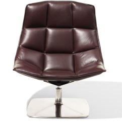 Jehs Laub Lounge Chair Eames Style And Ottoman Rosewood Black Leather 43laub Pedestal Hivemodern