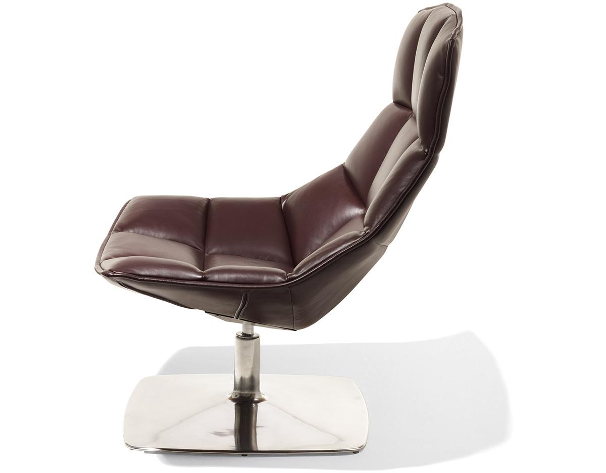 Jehslaub Pedestal Lounge Chair  hivemoderncom