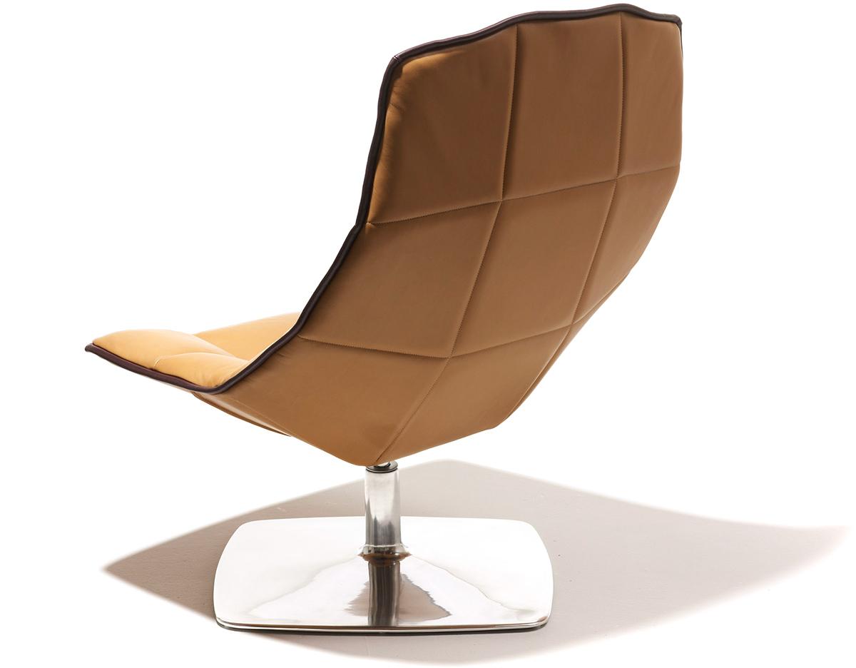 jehs laub lounge chair reupholster dining room 43laub pedestal hivemodern