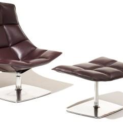 Jehs Laub Lounge Chair Restaurant Patio Chairs Jehs+laub Pedestal & Ottoman - Hivemodern.com