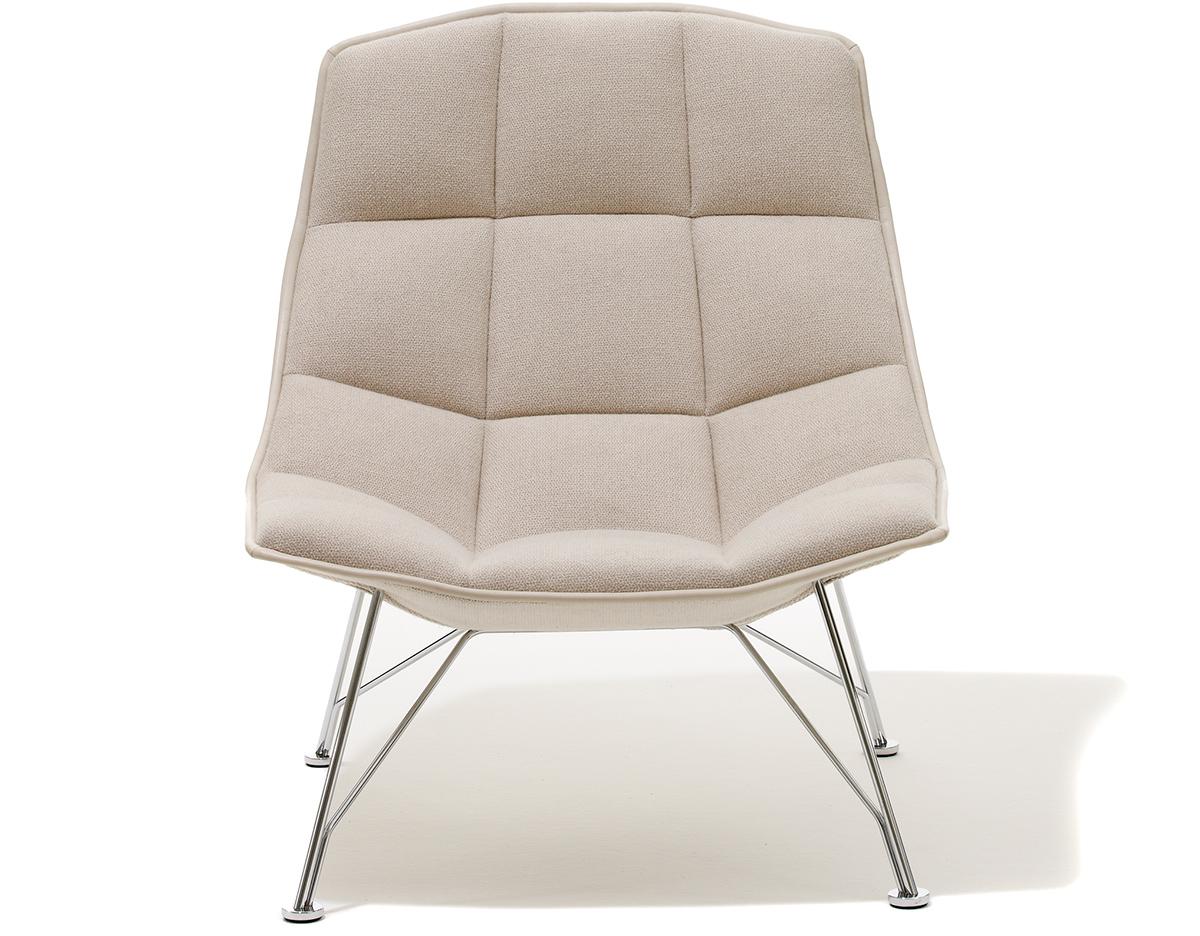 jehs laub lounge chair swing 43laub wire hivemodern