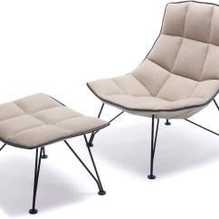 Jehs Laub Lounge Chair Carolina Panthers Gaming 43laub Wire And Ottoman Hivemodern