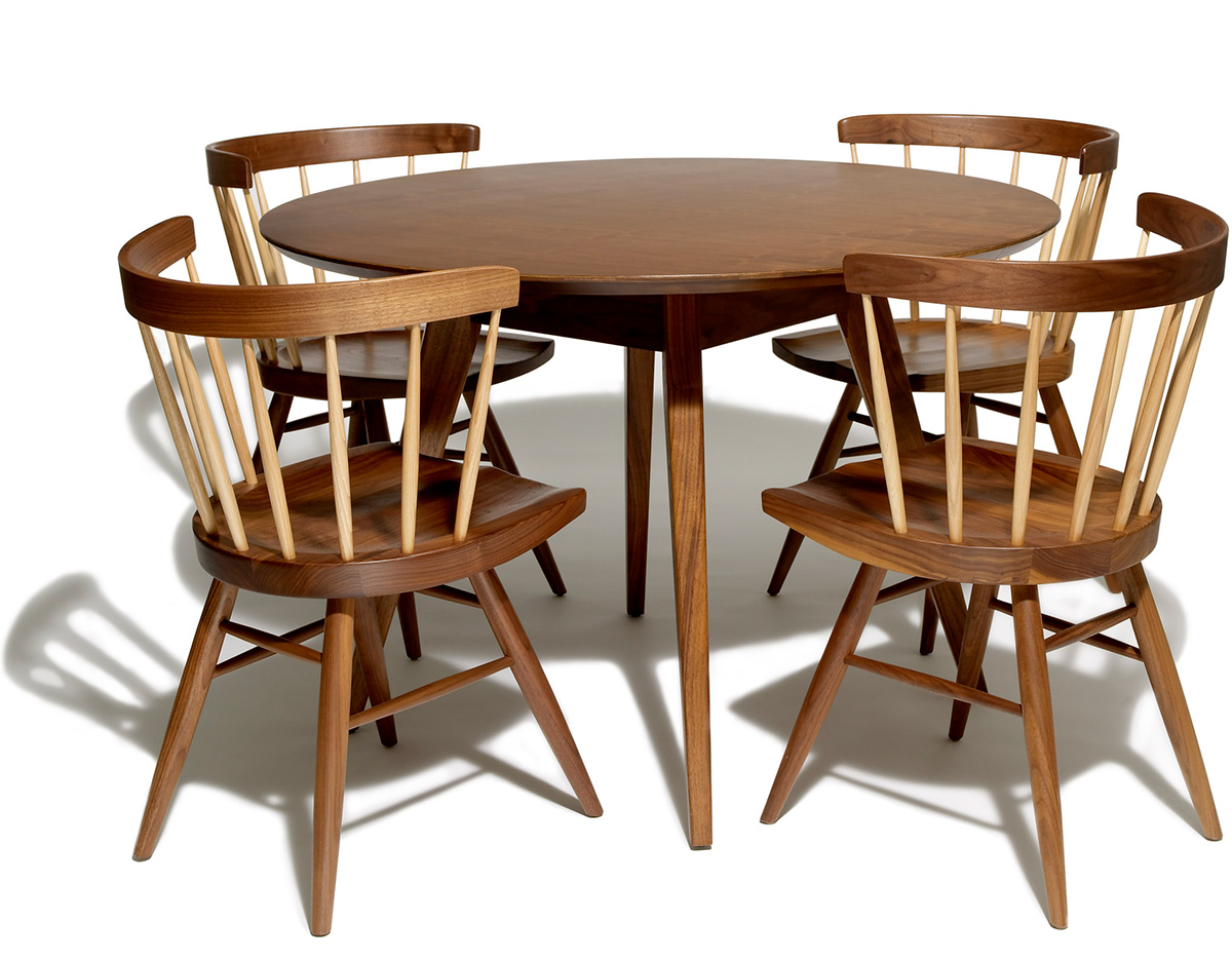 2 Chair Dining Table Jens Risom Dining Table Hivemodern