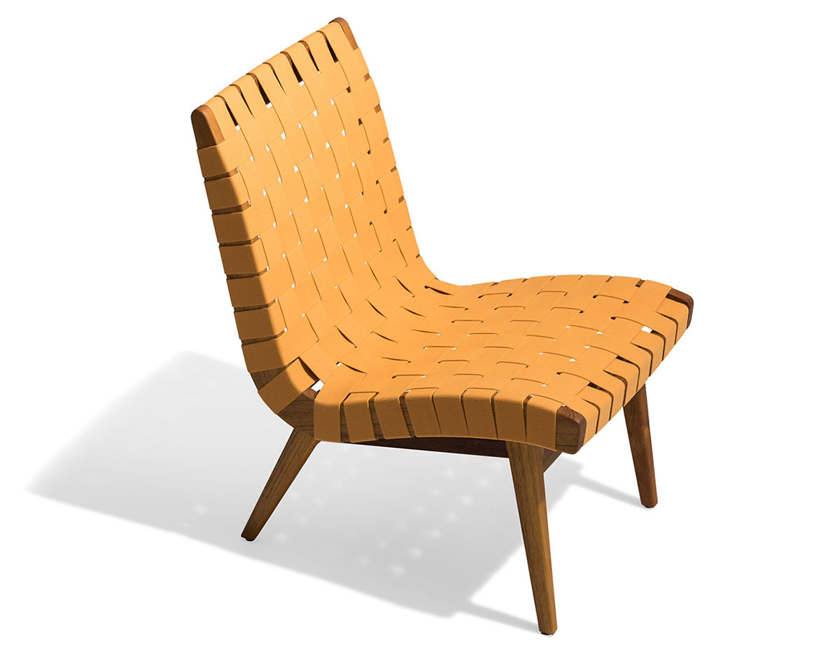 Jens Risom Outdoor Lounge Chair  hivemoderncom