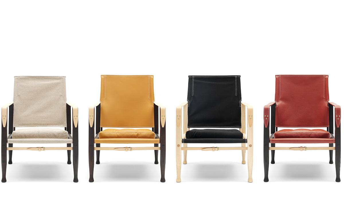 Leather Safari Chair