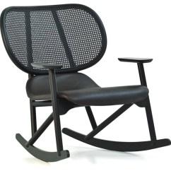 Swing Chair Patricia Urquiola Medline Shower Klara Rocking With Cane Back Hivemodern