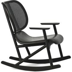 Rocking Chair Cane Lift London Klara With Back Hivemodern
