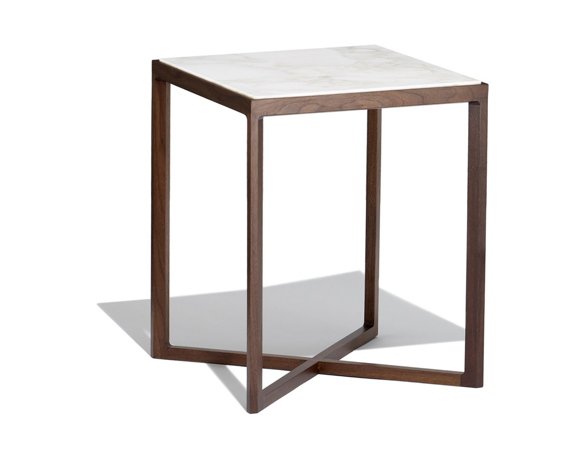 Krusin 18 H Square Side Table  hivemoderncom
