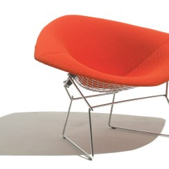 Knoll Bertoia Chair Swing Egg Uk Large Diamond With Full Cover Hivemodern