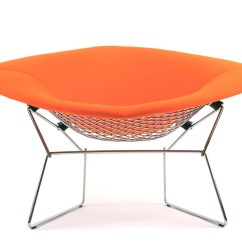 Knoll Bertoia Chair Snap On Glides Large Diamond With Full Cover Hivemodern