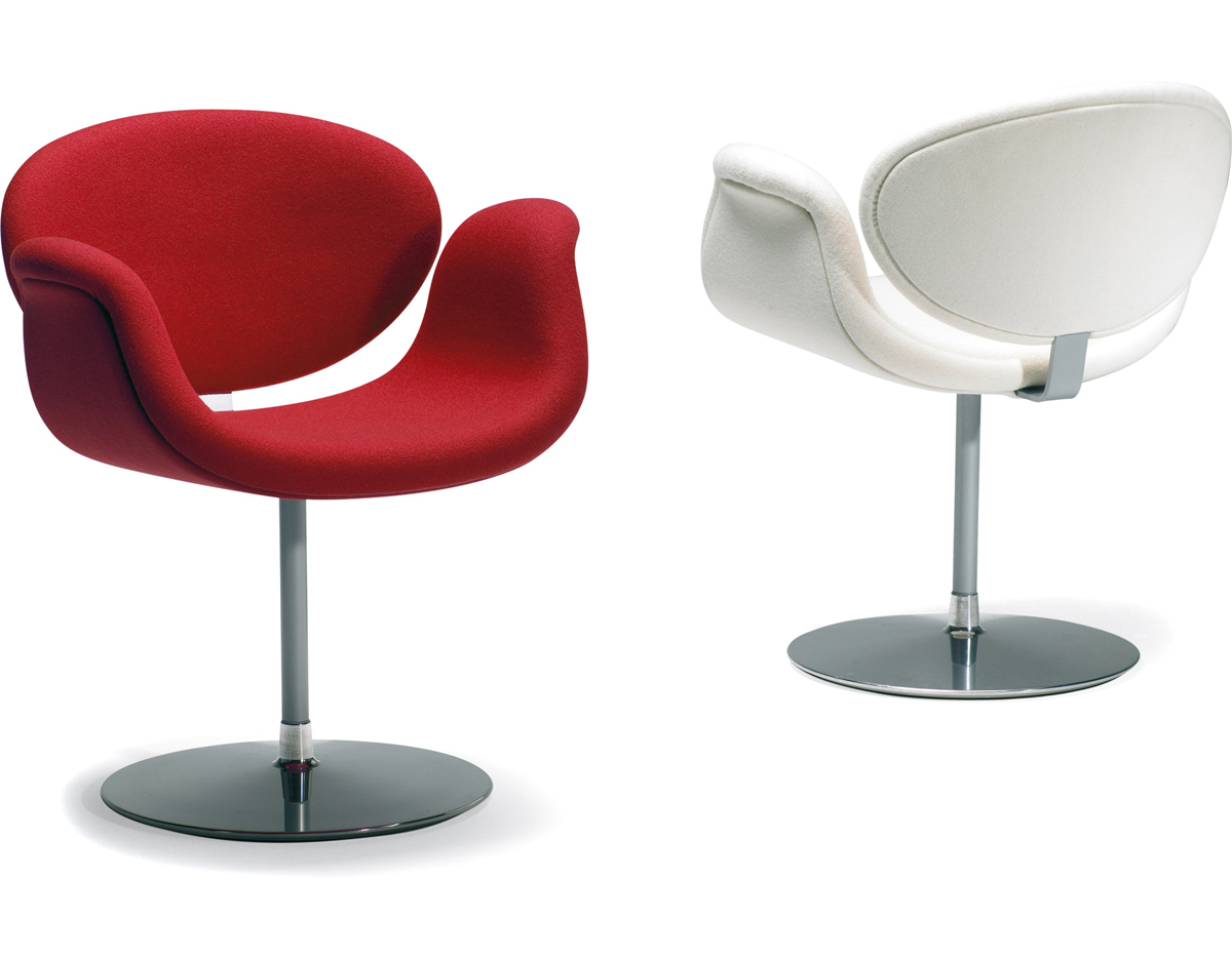 shell chair replica wooden child rocking little tulip with disc base - hivemodern.com