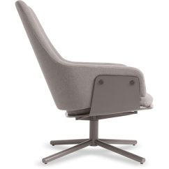 Blu Dot Chairs Double X Back Dining Lock Lounge Chair Hivemodern