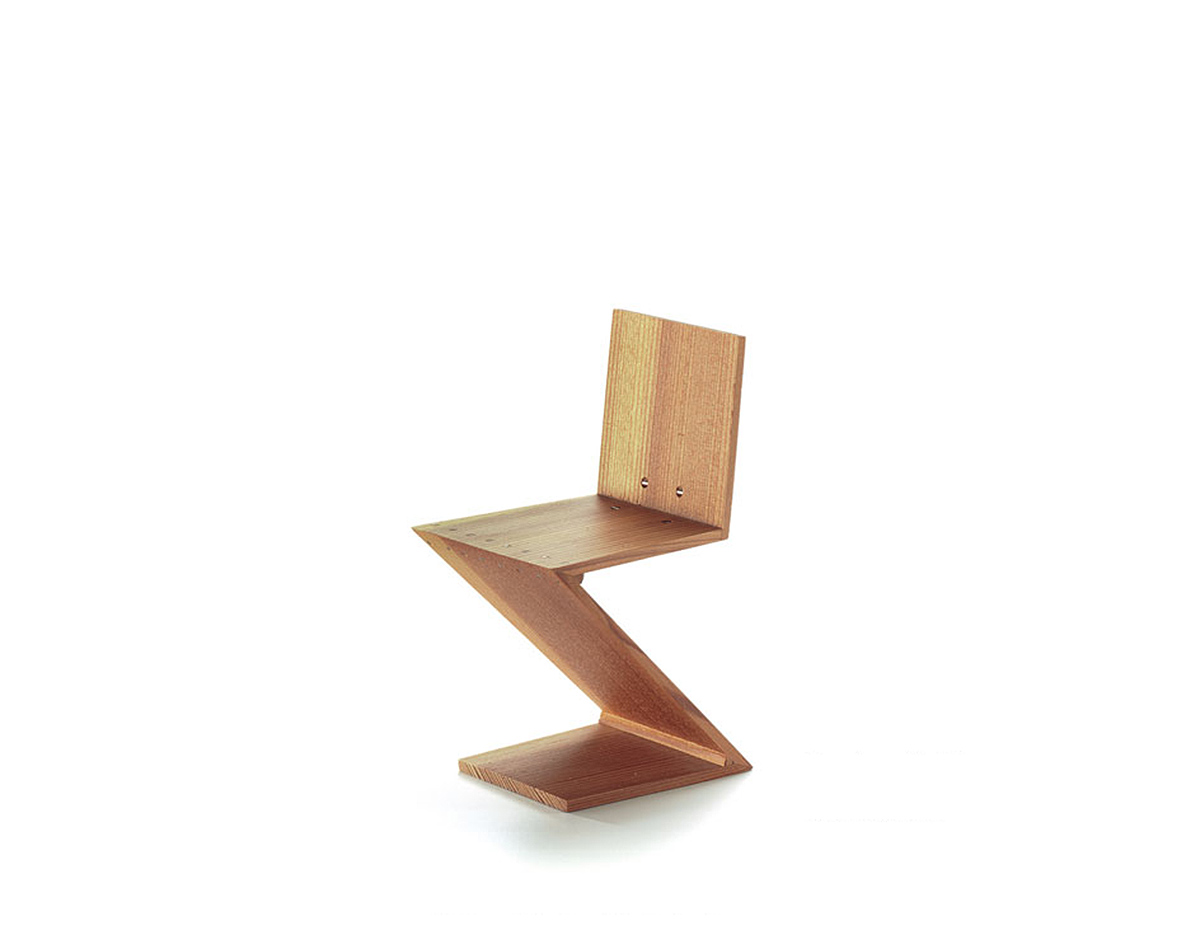 Miniature Zigzag Chair  hivemoderncom
