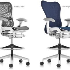 Office Chair Adjustments Foldable Bowl Mirra® 2 Stool - Hivemodern.com