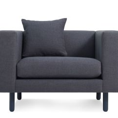 Blu Dot Chairs Small Pub Table And Mono Lounge Chair Hivemodern