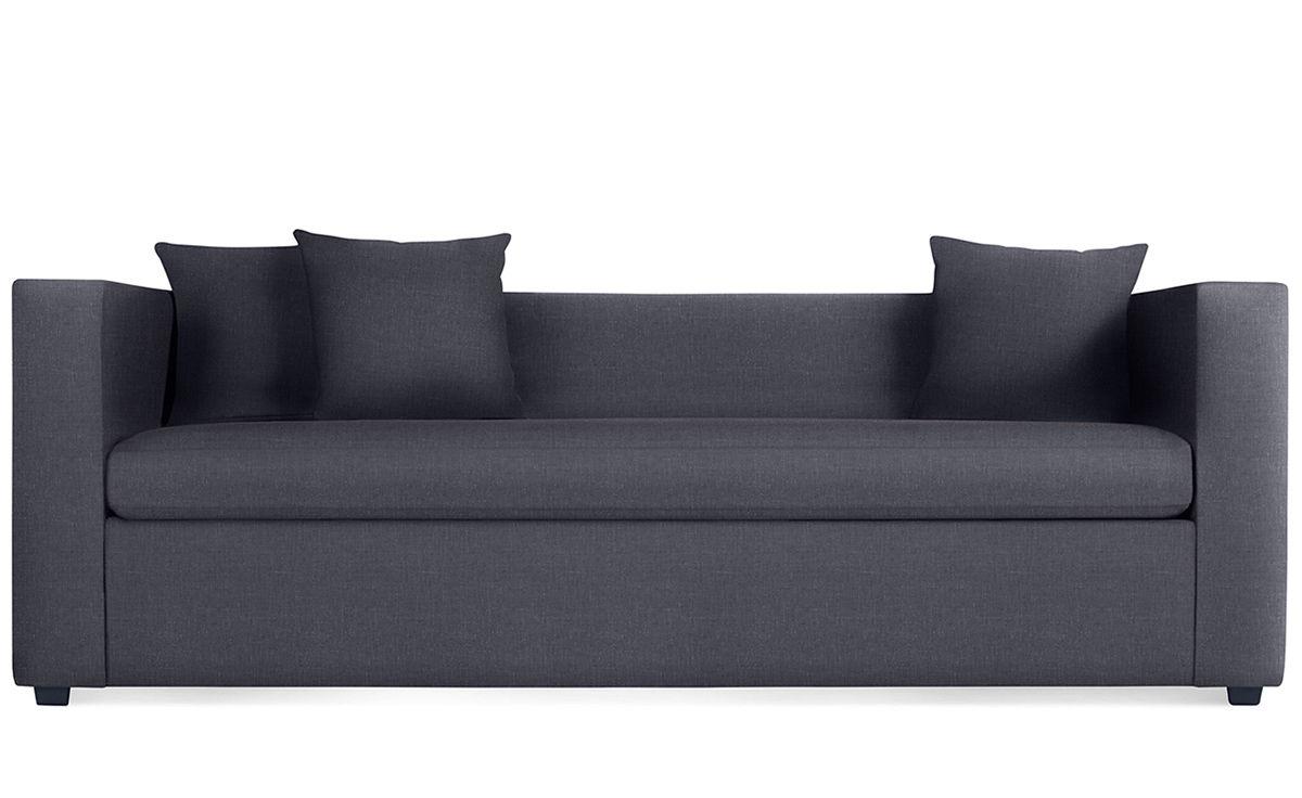 blu dot sofa collapsible table mono sleeper - hivemodern.com