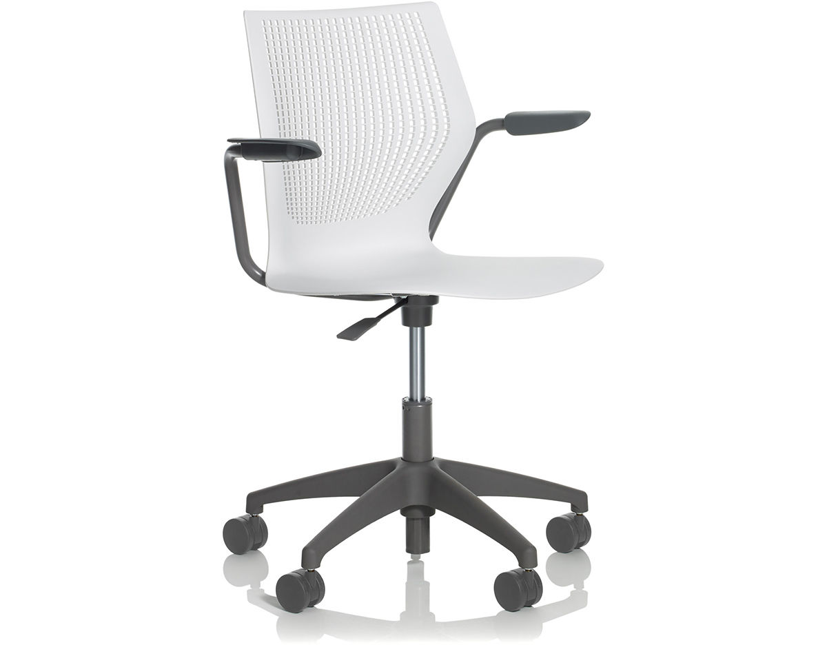 knoll generation task chair design retro multigeneration light with 5 star base