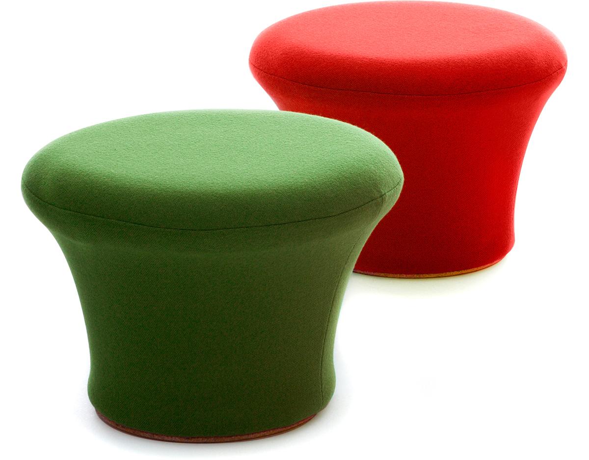 upholstered chairs dining folding chair gif imgur mushroom pouffe - hivemodern.com