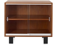 Nelson Basic Cabinet With Glass Sliding Doors