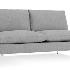 Best American Made Leather Sofas Sarasota New Standard Armless Sofa - Hivemodern.com