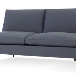 Best American Made Leather Sofas Curations Limited Cigar Club Sofa New Standard Armless - Hivemodern.com