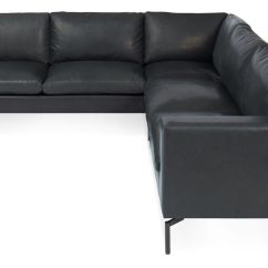 Blu Dot Chairs Herman Miller New Standard Small Sectional Leather Sofa - Hivemodern.com
