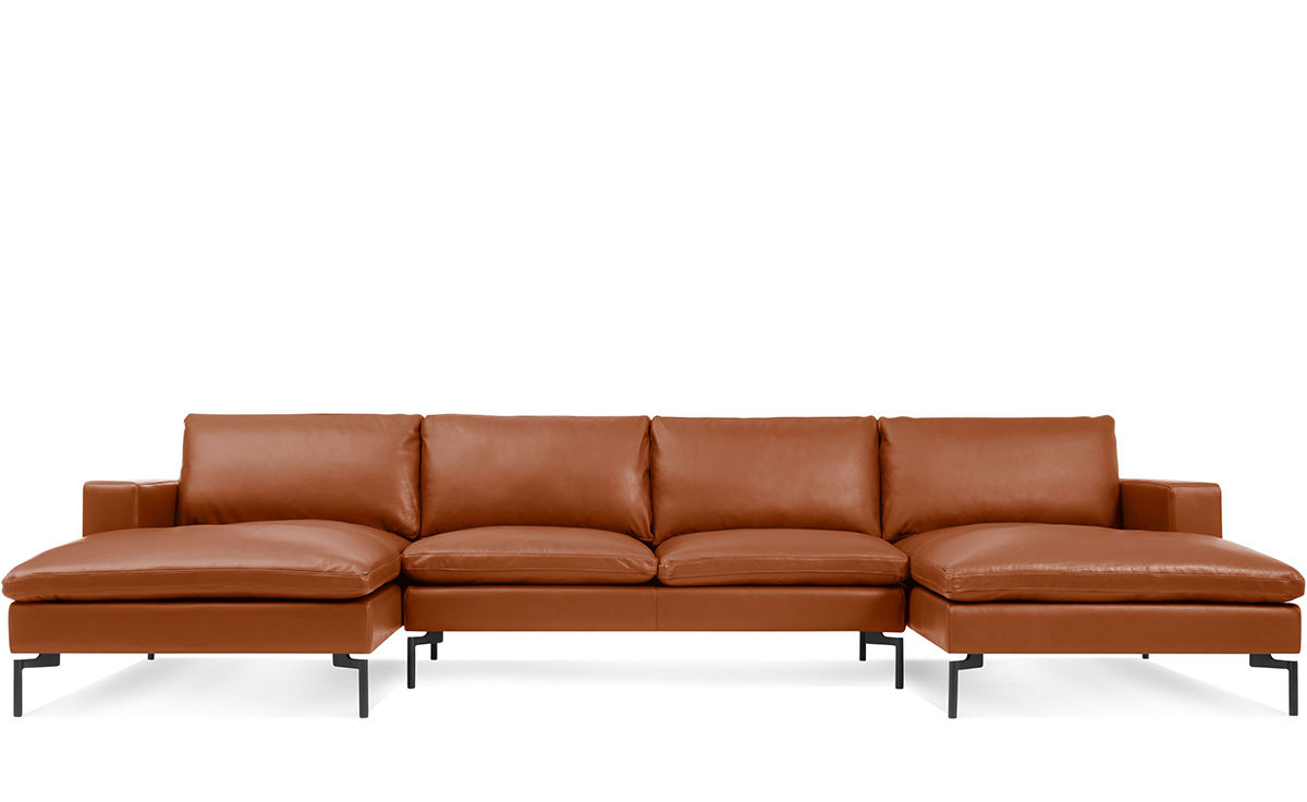 best american made leather sofas ex display sofa uk new standard u shaped sectional - hivemodern.com