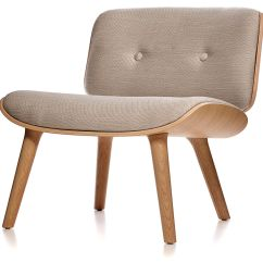 Jehs Laub Lounge Chair Professional Barber Chairs Nut Hivemodern