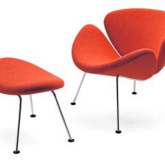 Orange Slice Chair Resin Adirondack Chairs Home Depot Ottoman Hivemodern Com