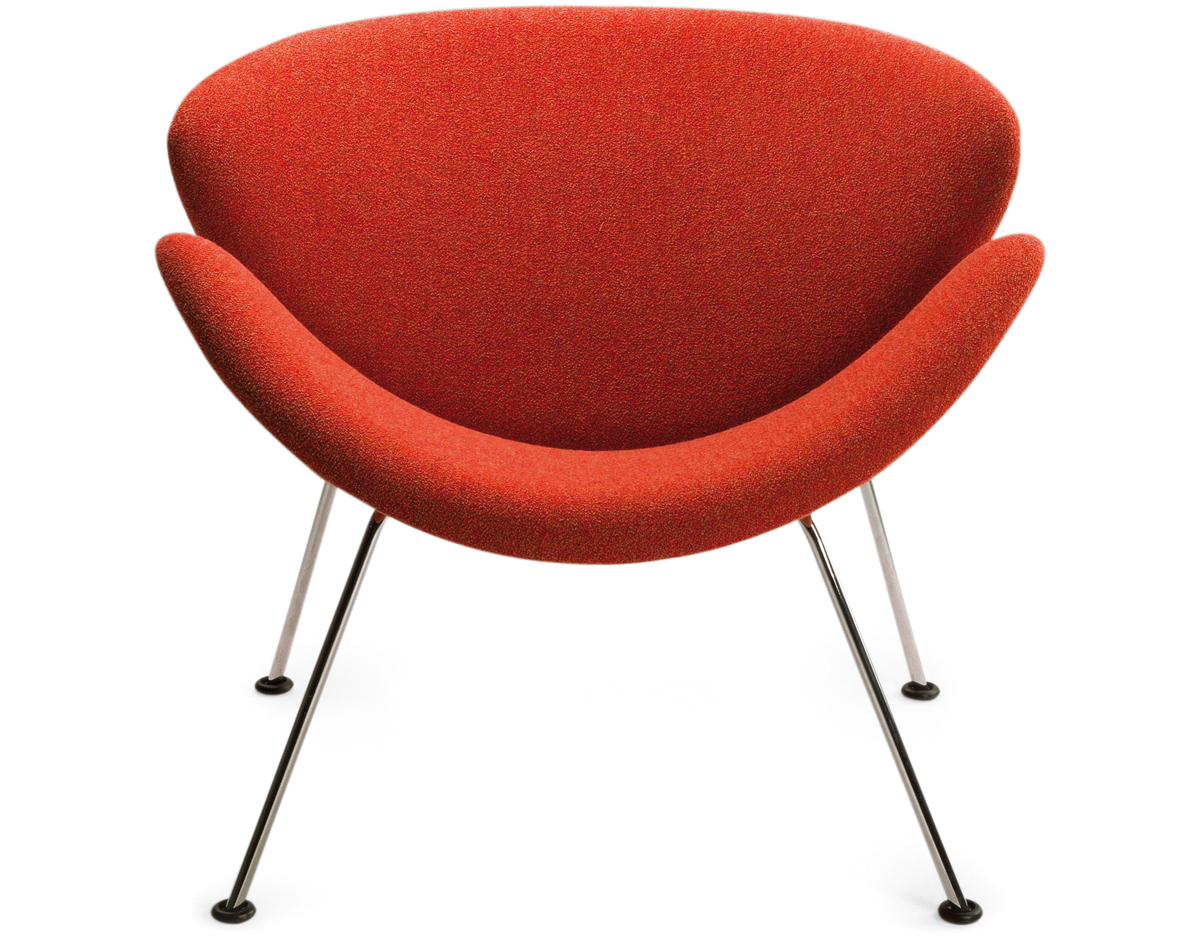 Pierre Paulin Orange Slice Chair  hivemoderncom