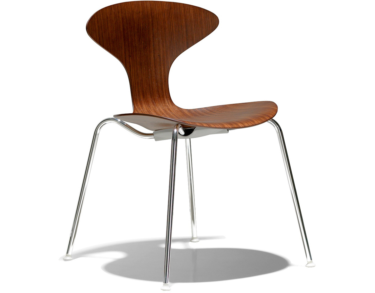 Orbit Wood Stacking Chair  hivemoderncom