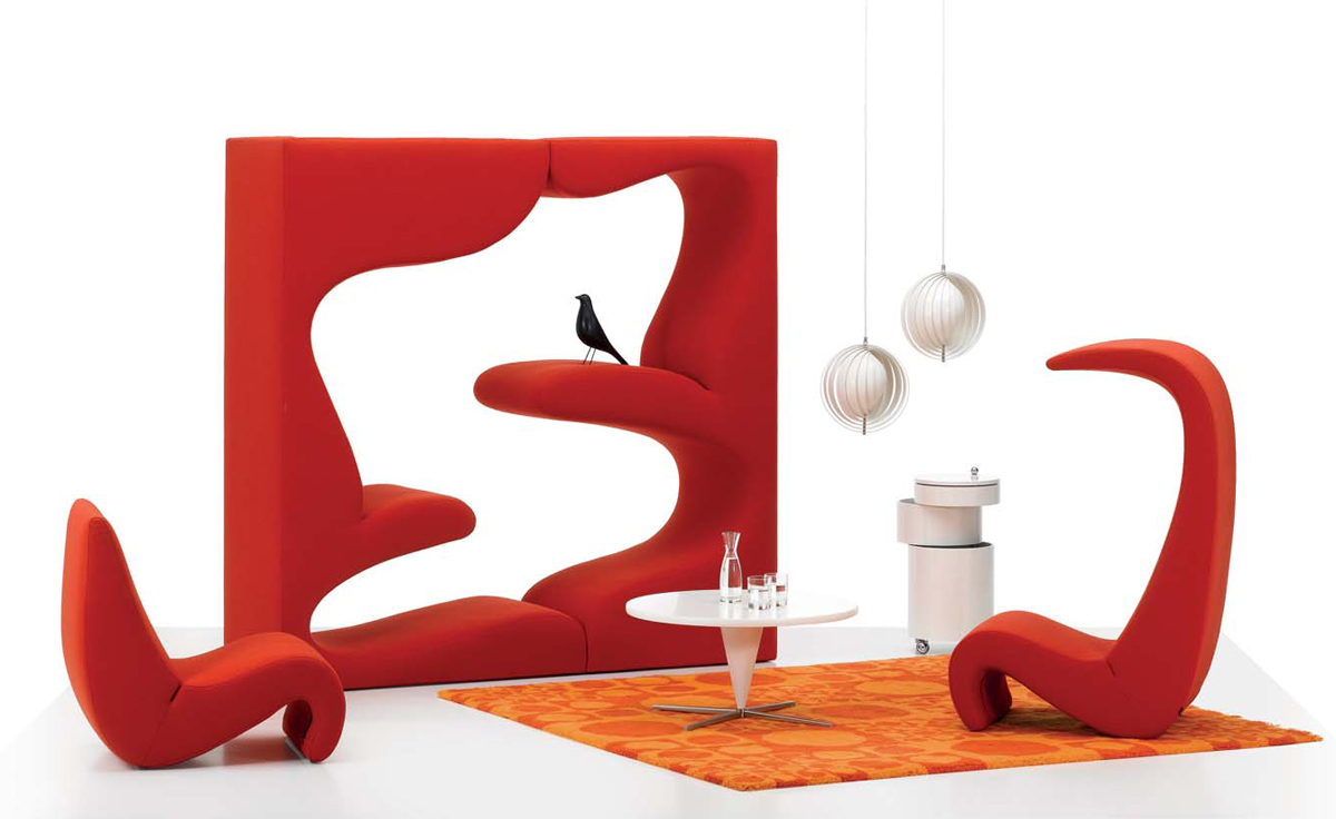 vernon panton chair chrome dining chairs canada amoebe hivemodern com