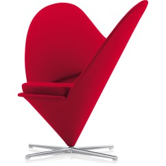Chair Design Love Exterior Rocking Chairs Verner Panton Heart Hivemodern Com
