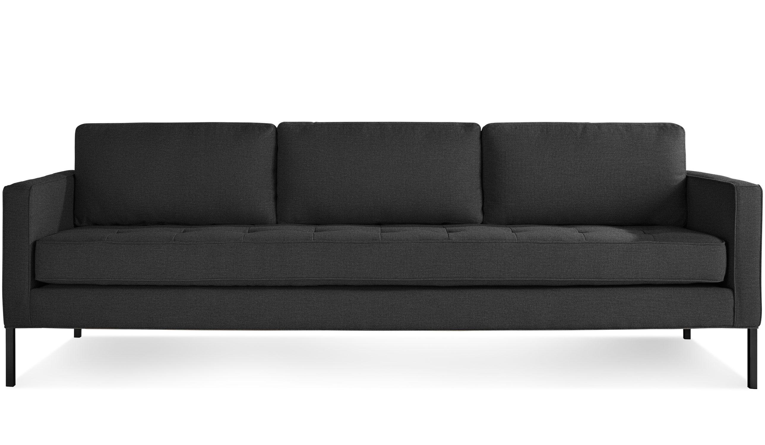 sofa frame making resource black cushions paramount 96 inch hivemodern