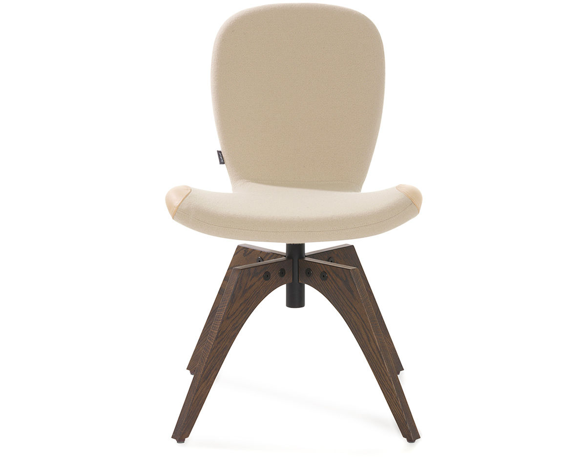 swivel chair wooden legs child pedicure patch 01 with 4 leg base hivemodern