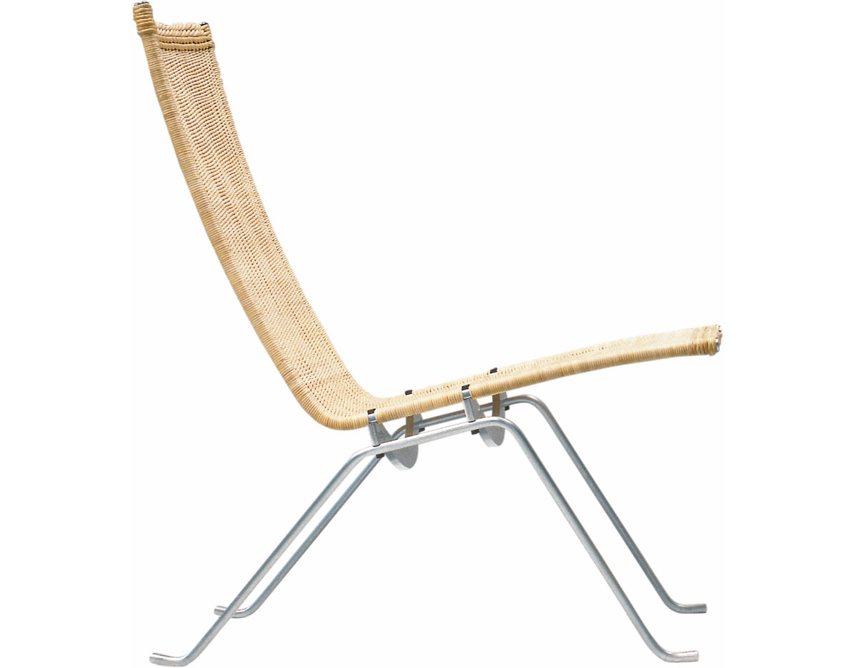 Pk22 Chair Poul Kjaerholm Pk22 Easy Chair Wicker Hivemodern