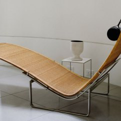 Wicker Chaise Lounge Chairs Outdoor Adirondack Teak Pk24 - Hivemodern.com