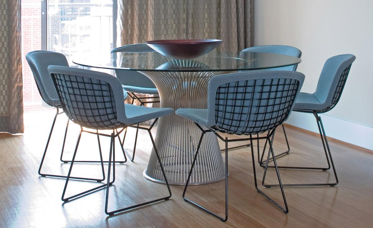Platner Nickel Dining Table