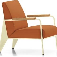 Vitra Lounge Chair Ethan Allen Palm Grove Prouvé Fauteuil De Salon Hivemodern