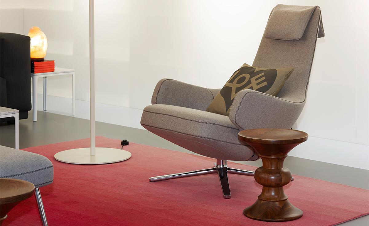 Repos Lounge Chair  Ottoman  hivemoderncom
