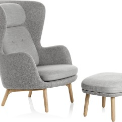 Jehs Laub Lounge Chair Nautica Beach Chairs Ro And Ottoman Hivemodern
