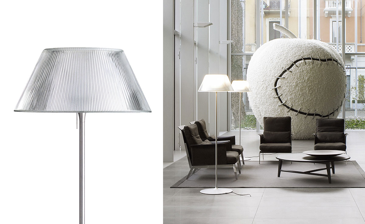 Romeo Moon Floor Lamp  hivemoderncom